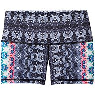 Prana Luminate Kurz Schwarz Hydrobloom - Shorts