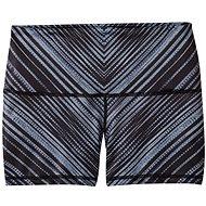 Prana Luminate Short Black Stripe - Kraťasy