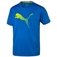 Puma Vent Cat Tee Electric Blue Lem - Triko