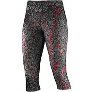 Salomon Elevate 3/4 Tight W black / infrared - Legíny