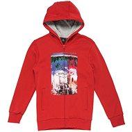 Rip Curl PHOTO FLEECE HZ Pompeian Red Ma - Sweatshirt