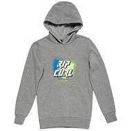 Rip Curl SLANT LOGO HOODED FLEECE Concrete - Sweatshirt