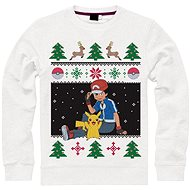 Pullover Weihnachts Pokemon Pikachu Ash & - Pullover