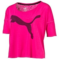 Puma The Good Life Tee Pink Glo - Triko