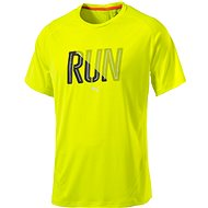 Puma Run S S Tee Safety Yellow - Triko