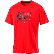 Puma Run S S Tee Red Blast