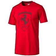 Puma Ferrari Big Shield Tee Rosso C