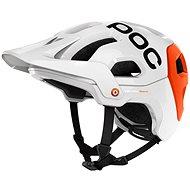 POC Tectales Hydrogen Rennen weiß / orange Eisen - Fahrradhelm