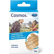 Cosmos waterproof plaster - 5 sizes (20 pieces)