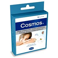 Cosmos Náplasť detská antibakteriálna - 7,6 x 7,6 cm (4 ks) - Náplasť