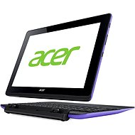 Acer Aspire Schalter 10E + 64 Gigabyte bis 500 Gigabyte HDD-Dock und Tastatur Lila Schwarz