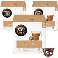 Nescafé Dolce Gusto Cortado Espresso Macchiato 30ks x 3 - Kávové kapsle