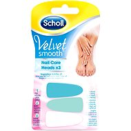 SCHOLL Velvet Smooth Nail Care pink 3 ks