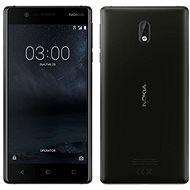 Nokia 3 Matte Black Dual SIM - Mobiltelefon