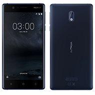 Nokia 3 Tempered Blue Dual SIM - Mobilní telefon