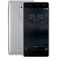 Nokia 5 Silver Dual SIM - Mobile Phone