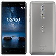 Nokia 8 Dual SIM Steel - Mobile Phone