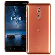 Nokia 8 Dual SIM Polished Copper - Mobile Phone