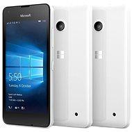 Microsoft Lumia 550 bílá