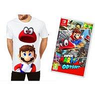 Super Mario Odyssey + Originál Tričko - Nintendo Switch - Hra pro konzoli