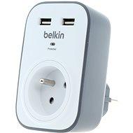 Belkin SurgeCube Überspannungsschutz mit Steckdose und 2 USB-Ladeanschlüssen - Überspannungsschutz
