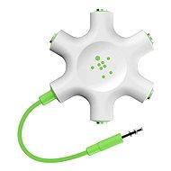 Belkin RockStar - bílo-zelený - Rozbočovací adaptér