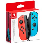 Nintendo Switch Joy-Con ovládače Neon Red / Neon Blue