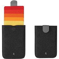Powercube Dax wallet, červená
