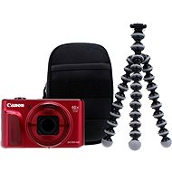 Canon PowerShot SX720 HS rot Travel Kit - Digitalkamera