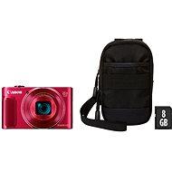 Canon PowerShot SX620 HS, rot, Essential Kit - Digitalkamera