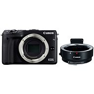 Canon EOS M3 Black + Adapter EF / EF-S lenses