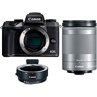 Canon EOS M5 Body black + 18-150 mm IS STM + Adapter EF-EOS M