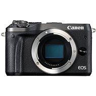 Canon EOS M6, fekete váz - Digitális fényképezőgép