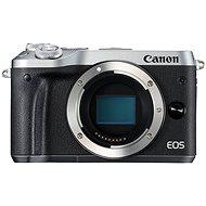 Canon EOS M6, ezüst váz - Digitális fényképezőgép