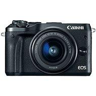Canon EOS M6, fekete + EF-M 15-45mm - Digitális fényképezőgép