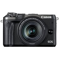 Canon EOS M6 fekete + EF-M 18-150mm - Digitális fényképezőgép