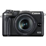 Canon EOS M6 Black + EF-M 18-150mm - Digital Camera