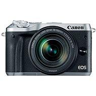 Canon EOS M6 stříbrný + EF-M 18-150mm - Digitální fotoaparát