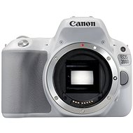 Canon EOS 200D tělo bílý - Digitální zrcadlovka