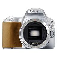 Canon EOS 200D tělo stříbrný - Digitální zrcadlovka