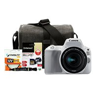 Canon EOS 200D bílý + 18-55mm IS STM + Canon Starter Kit - Digitale Spiegelreflexkamera