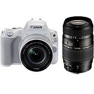 Canon EOS 200D bílý + 18-55mm IS STM + TAMRON 70-300mm