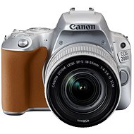 Canon EOS 200D stříbrný + 18-55mm IS STM - Digitální zrcadlovka