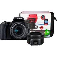Canon EOS 200D černý + 18-55 mm IS STM + 50 mm f/1,8 STM + Canon Starter Kit