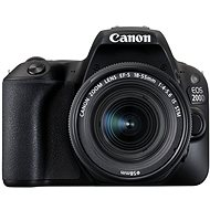 Canon EOS 200D černý + 18-55mm DC III + 75-300mm DC III + Canon Starter Kit - Digitální zrcadlovka