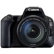 Canon EOS 200D bílý + 18-135mm IS STM - Digitální zrcadlovka