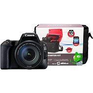 Canon EOS 200D + 18-135mm IS STM + Canon Starter Kit - Digitale Spiegelreflexkamera