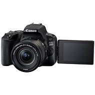 Canon EOS 200D černý + 18-55mm DC III + TAMRON 70-300mm - Digitale Spiegelreflexkamera