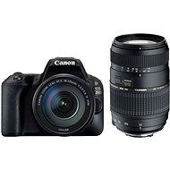 Canon EOS 200D černý + 18-55mm DC III + TAMRON 70-300mm - Digitální zrcadlovka
