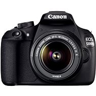 Canon EOS 1200D + EF-S 18-55 mm IS II - DSLR Camera